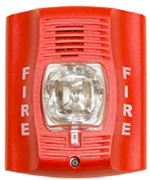 Photo of a fire alarm