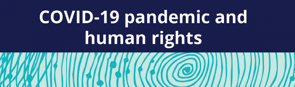 COVID-19 and human rights